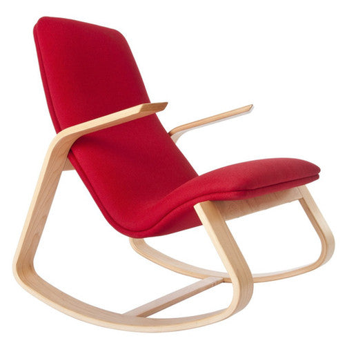 Ralph Rapson Rapid Rocker Red