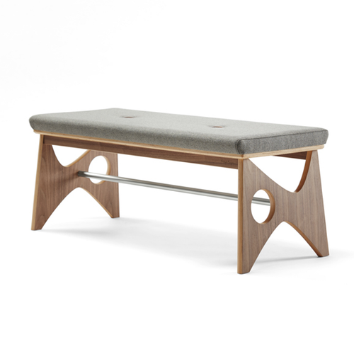 Rapson® Thirty-Nine Bench by Leland International