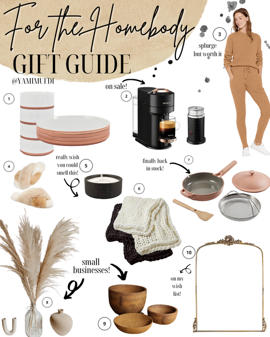 For the Homebody Holiday Gift Guide 2020