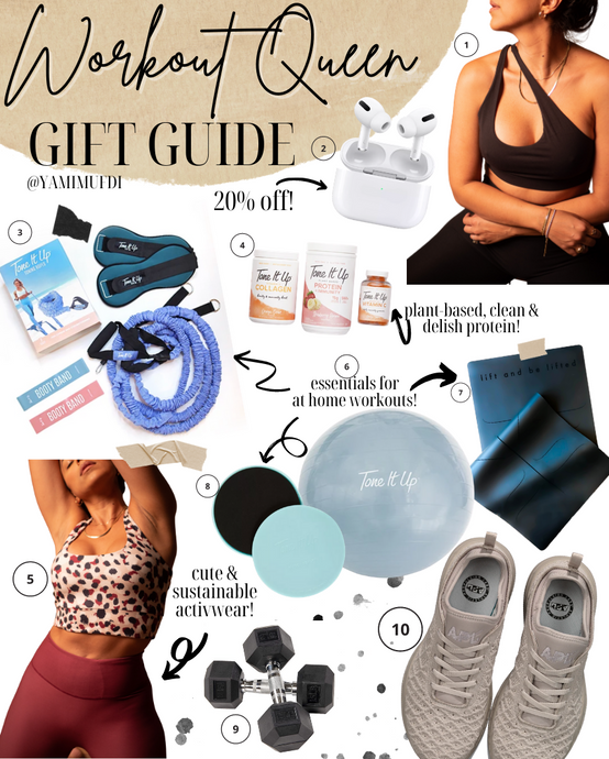Workout Queen Holiday Gift Guide 2020