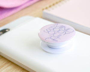 Bundle: Pop Socket & Journal