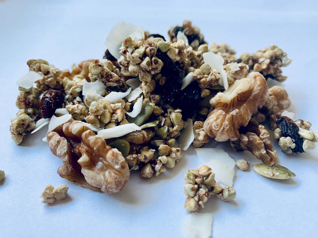 gRawnola with China Grown Pumpkin Seeds