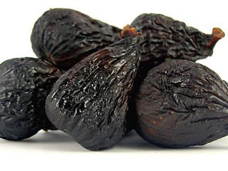Black Mission Figs, Whole, Dried