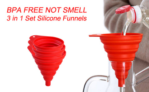 bottle funnels