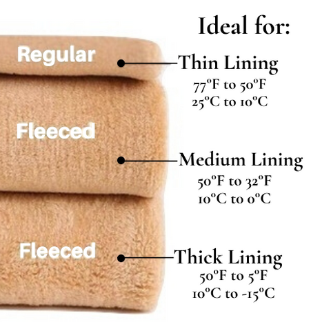 fleece tights offer varying levels of thickness to protect against the cold - living a sweeter life