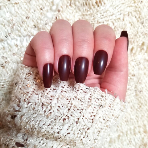 coffin shaped nails - living a sweeter life