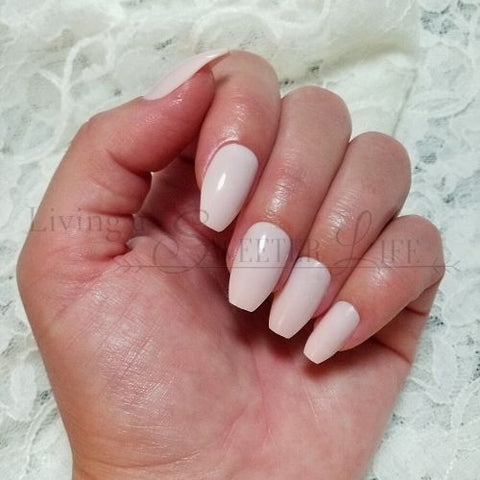 best press on nails in ballerina pink color - living a sweeter life blog