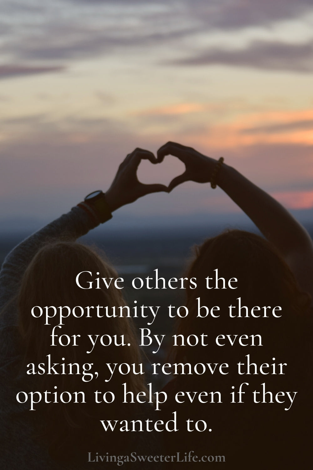 how to get your life together - ask for help from loved ones - living a sweeter life blog
