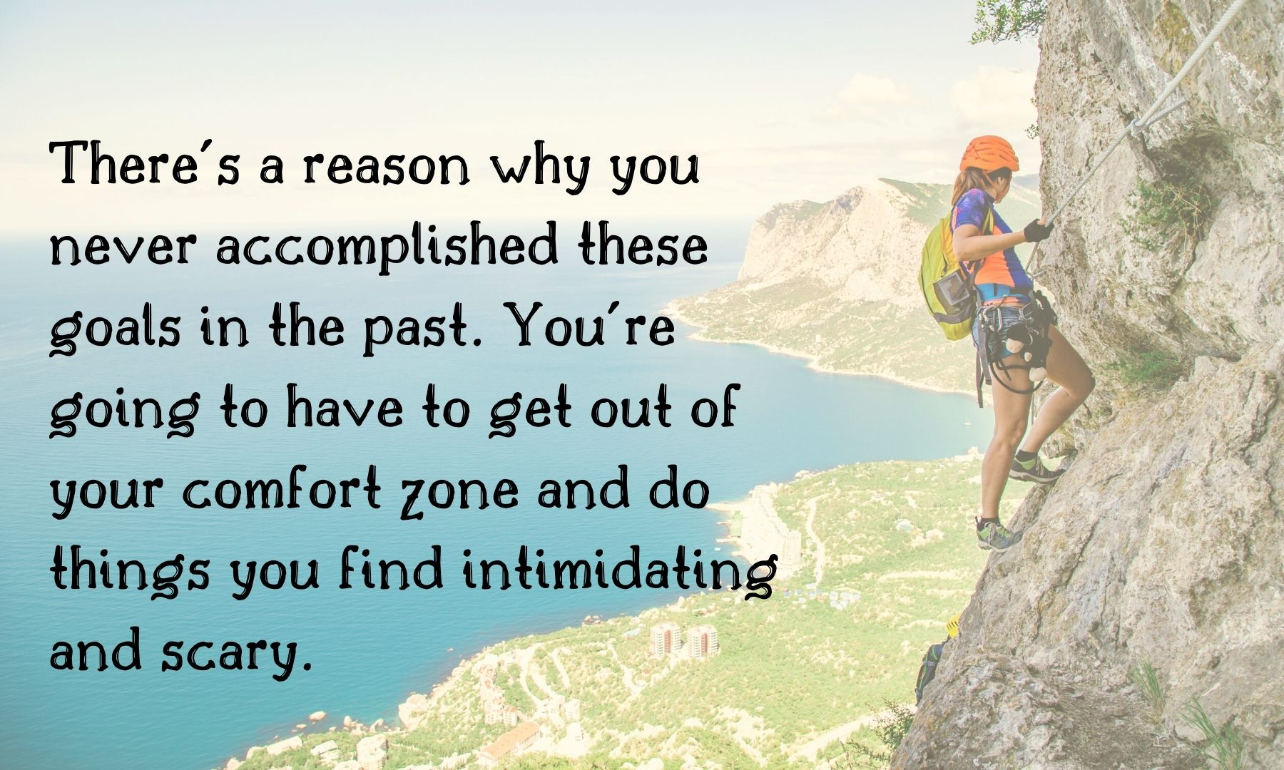 get your life together - get out of your comfort zone and push yourself - living a sweeter life blog