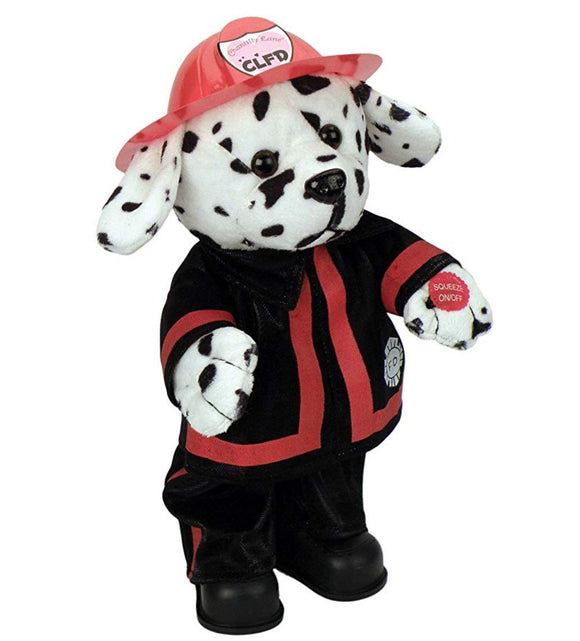 Dalmatian plush animation