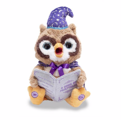 Octavius is our newest storytelling animated plush! This owl tells a handful of children's literary classics!
