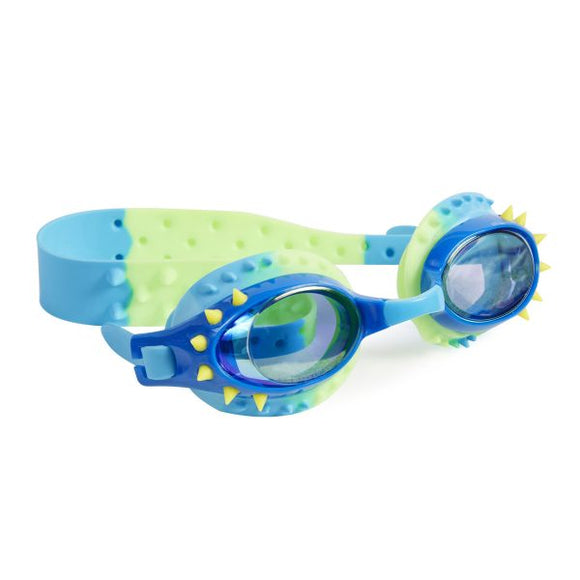 Nelly Swim Goggles Lockness Yellow Spikes
