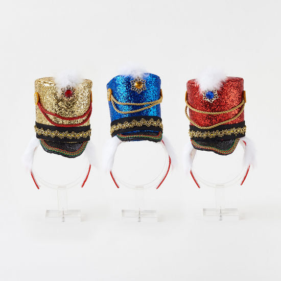 Toy Soldier - Holiday Headbands