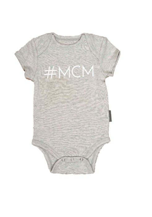 #MCM (Man Crush Monday Baby Onesie)