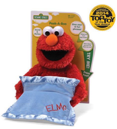Peek A Boo Elmo by Gund