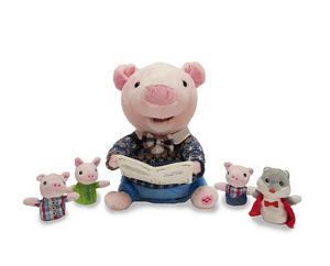 Preston the Storytelling Pig