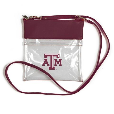 Texas A & M Game Day Clear Crossbody Bags