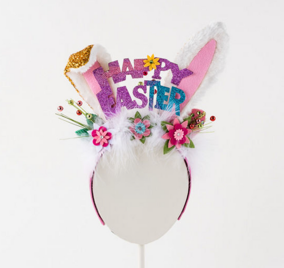 Happy Easter Bunny Headband