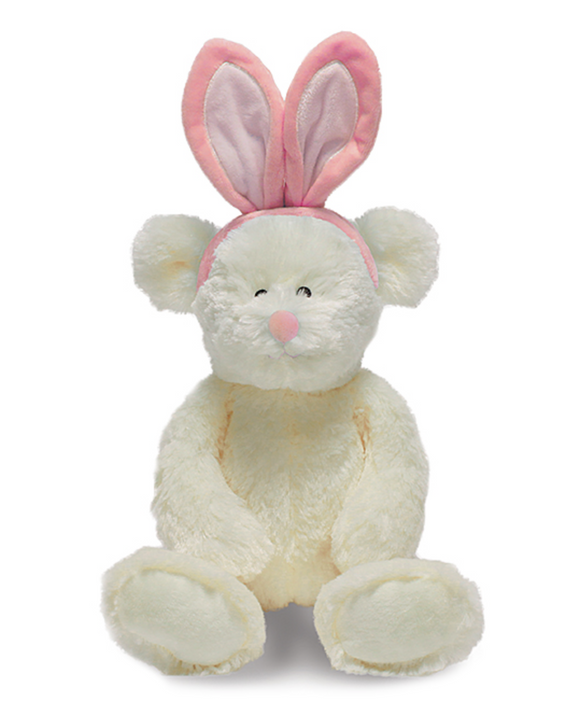 Cream Lil' Bunny Bear Plush