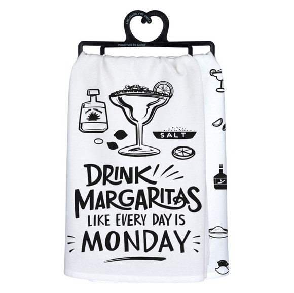 Drink Margaritas Like Every Day Is Monday