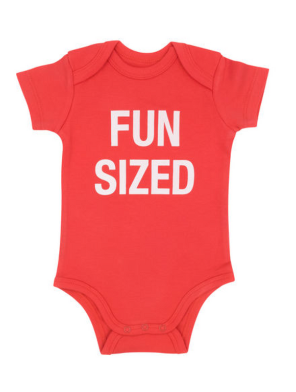 Fun Sized baby onesie
