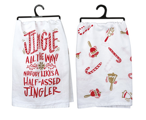 Tea Towel - Jingle All The Way!