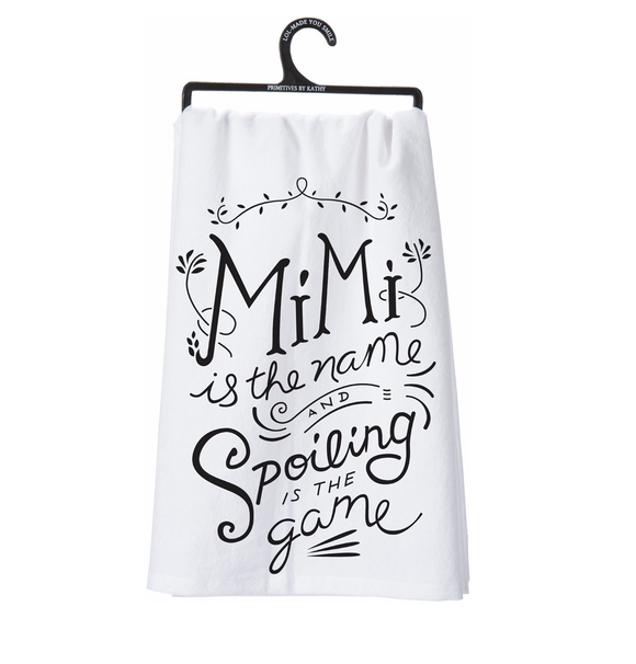 Tea Towel - Mimi Is The Name