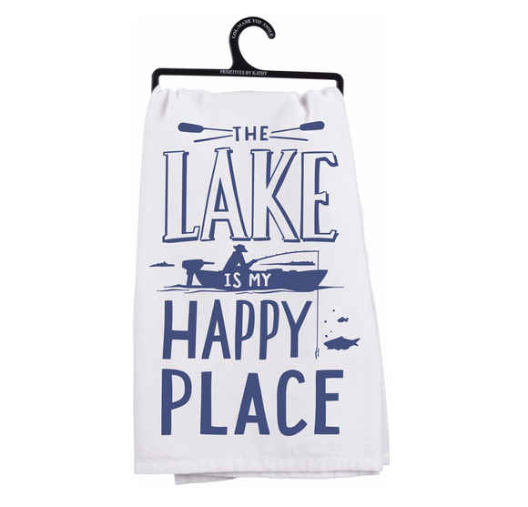 Tea Towel - Lake Happy Place