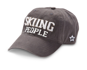 Skiing People - Baseball Hat