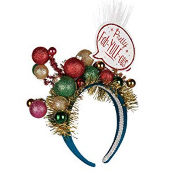 Pretty Fab-YULE-ous - LIGHT UP Holiday Headband