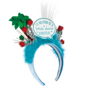 I'm Dreaming of a White Sand Christmas - Light Up Holiday Headband
