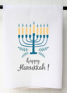 Tea Towel - Happy Hanukkah