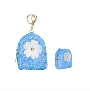 Flower Coin Bag Keychains