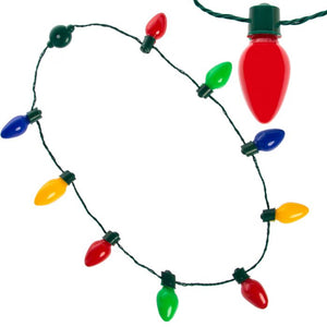 Holiday Light Up Necklace and Earrings package special