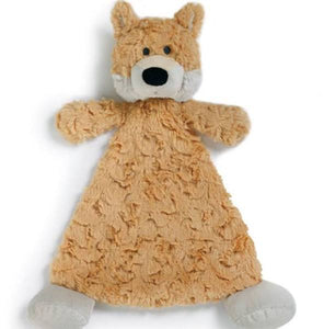 Cozies: Fitzgerald Fox Baby Blankie Rattle