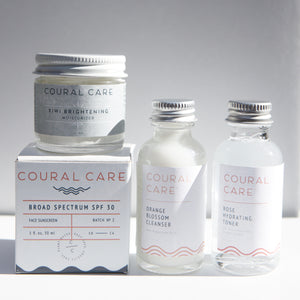 Cleanser + Toner Travel Set