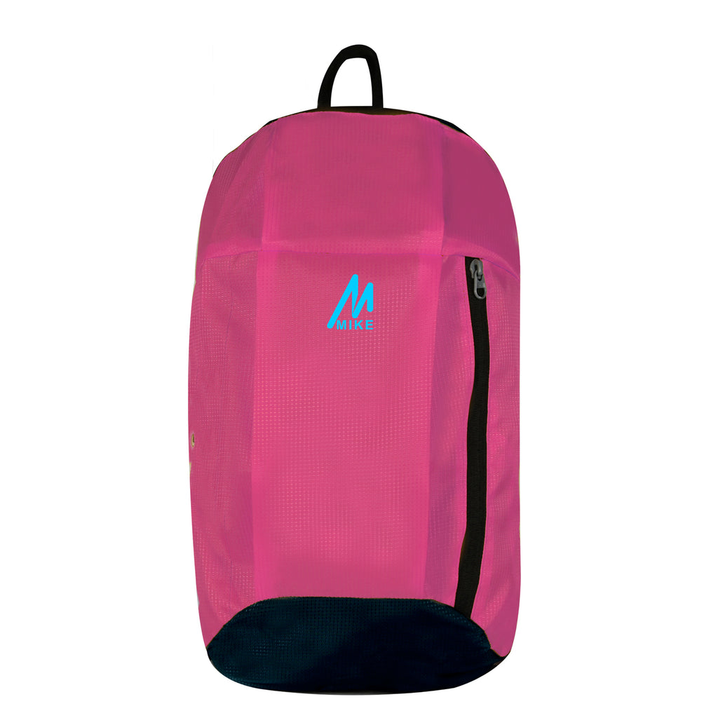 Mike Casual Unisex Backpack Pink