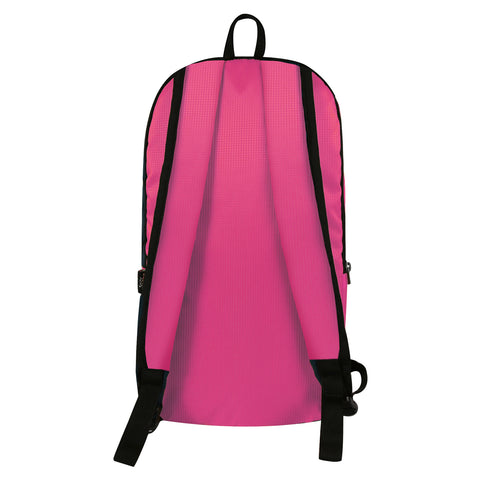 Image of Mike Casual Unisex Backpack Pink