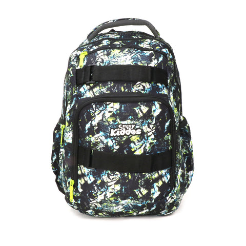 Image of Smily Teen backpack Black & Green