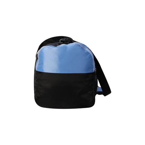 Image of Mike weekender duffel bag - Light Blue and Black