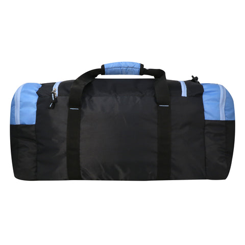 Mike weekender duffel bag - Light Blue and Black