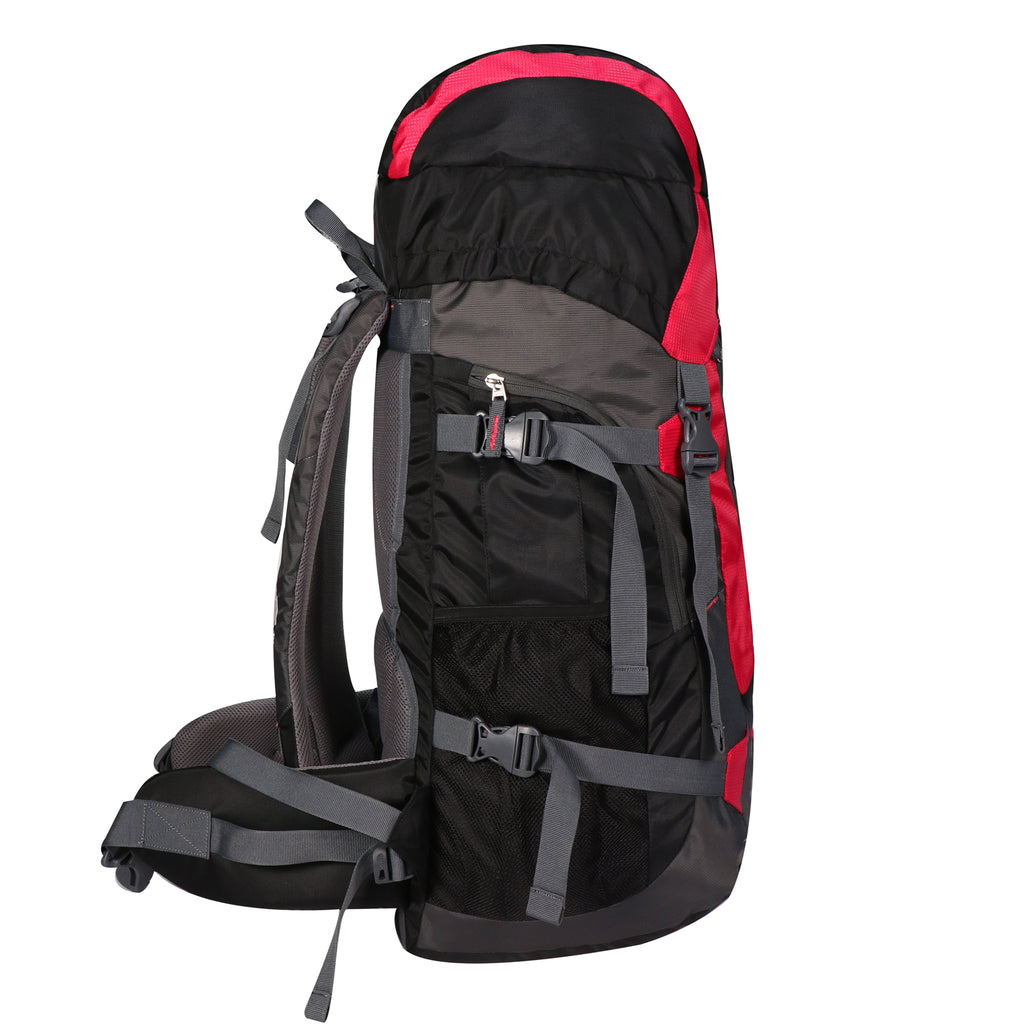 Mike 65 L Hiking Bag - Pink and Black