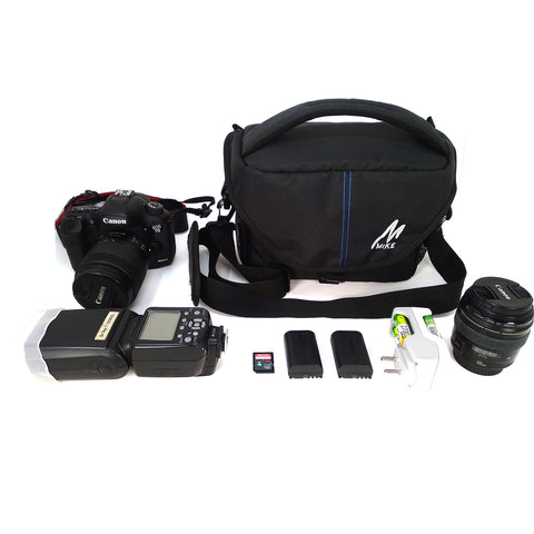 Mike Padded Camera Equipment Bag Black