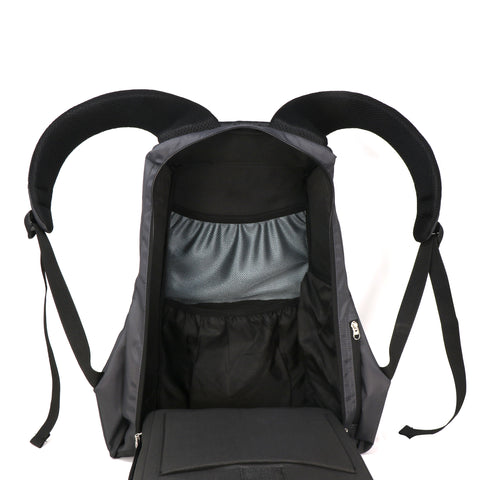 Mike Predator Anti Theft  Laptop Bag Grey -32lts