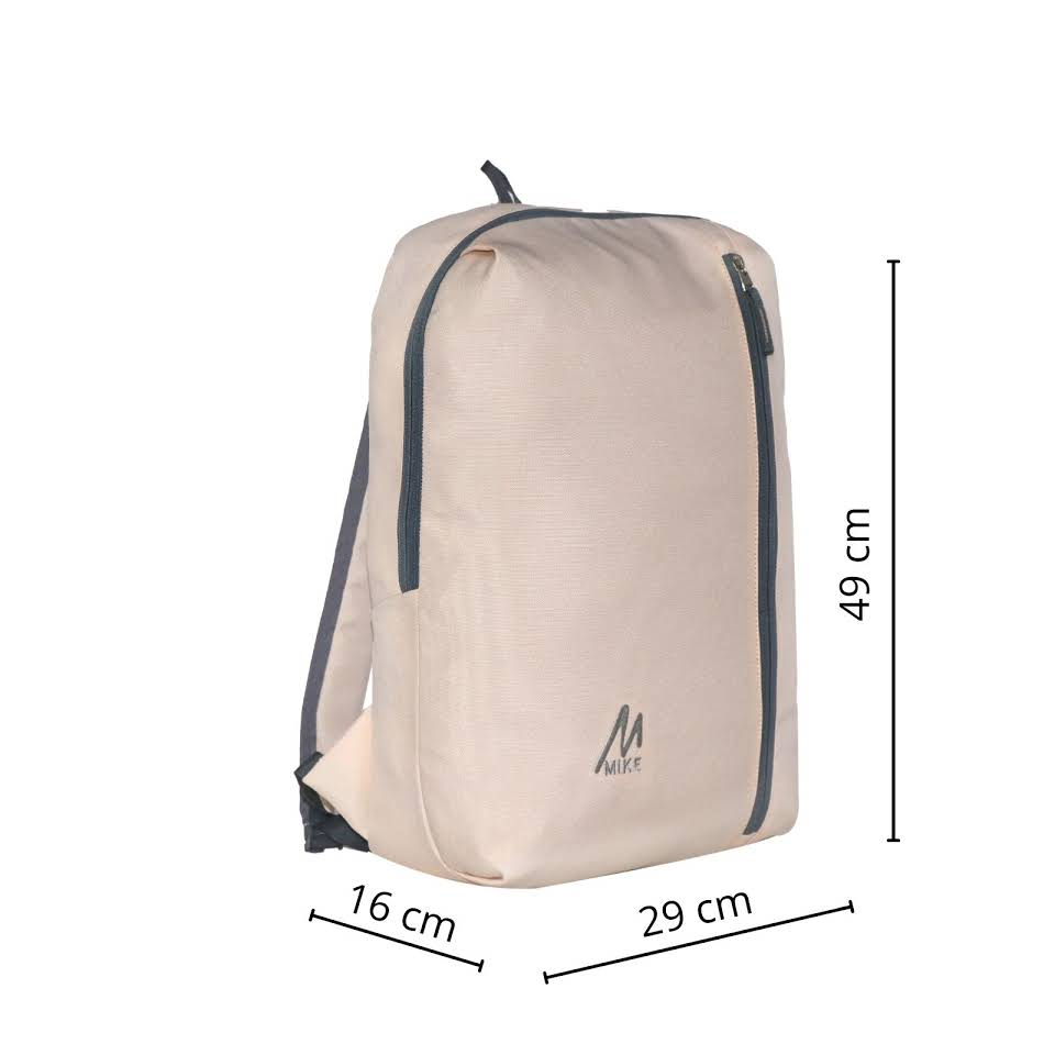 Mike City Backpack - Cream