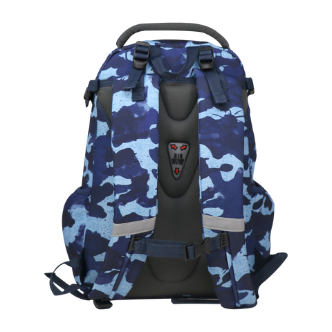 Smily Teen backpack-Camouflage-Blue