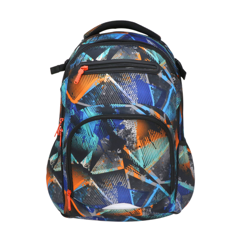 Smily Teen backpack -Future - Blue & Orange