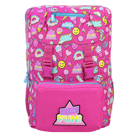 Image of Smily Fancy Backpack Pink