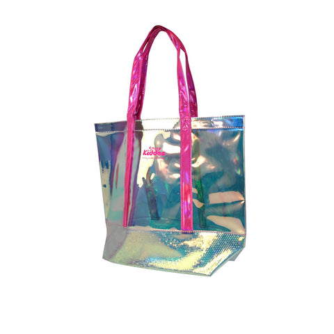 Image of Smily Cute Translucent Hand Bag