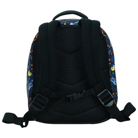 Image of Smily Preschool Backpack Black